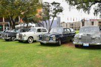 Añoranza plena la exhibición de autos antiguos en la UDLAP