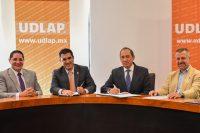 UDLAP y CANACO Puebla signan convenio de colaboración