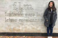 Egresada de la UDLAP obtiene beca de la Fundación para las Letras Mexicanas