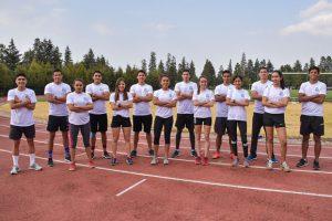 Medalla de oro para el atletismo Azteca en su primera competencia