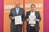 UDLAP y Schaeffler de México reafirman sus relaciones con convenio
