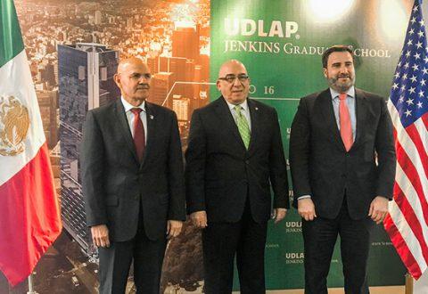 UDLAP y Embajada E.U. inauguran seminario de Seguridad Nacional en México y Regional de América del Norte