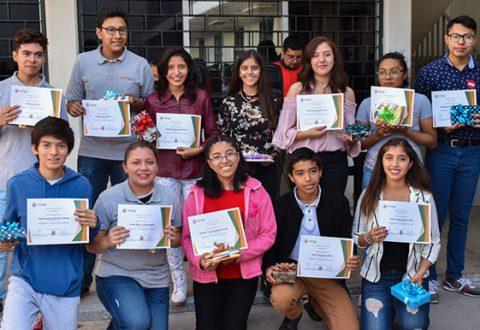 Estudiantes de preparatoria UDLAP-SEDIF representantes a nivel nacional del Programa Jóvenes en Acción