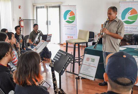 El Encuentro de Bandas Sinfónicas Juveniles y el Curso de Dirección para Bandas Sinfónicas UDLAP reúnen a más de 100 artistas