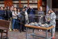 """Se inaugura """"Imaginario de un encuentro"""" exposición que reúne el acervo de las bibliotecas Palafoxiana y Franciscana"""
