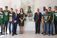 La UDLAP honra la memoria de uno de sus Aztecas en su nuevo gimnasio