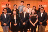 UDLAP y Ayuntamiento de San Andrés Cholula se reúnen con jóvenes acreedores a beca académica