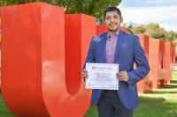 Egresado UDLAP es beneficiado con beca para estudiar en Reino Unido