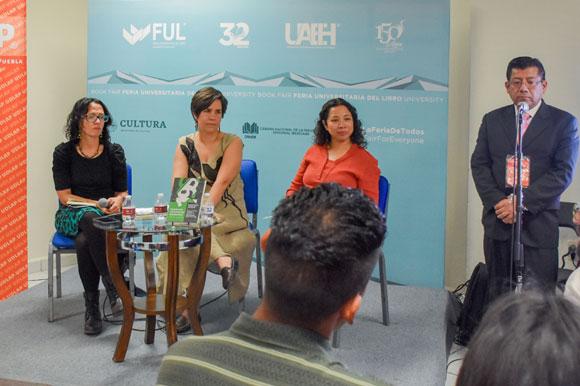 La UDLAP se hace presente en la Feria del Libro Universitario en Pachuca, Hidalgo