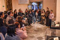 """La Biblioteca Franciscana inauguró la exposición """"Conquistadores y Frailes: perspectivas distintas de la conquista"""""""