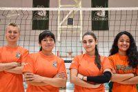 Los Aztecas de voleibol tienen un fin de semana transcendental