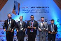 Segunda edición del Premio UDLAP-CANACINTRA Puebla reconoce a empresas con altos estándares de calidad, innovación y responsabilidad social