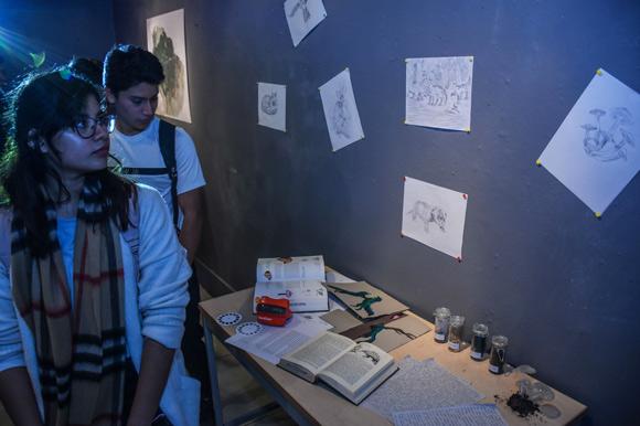 Presenta Estudiante UDLAP animal fantástico como proyecto artístico colaborativo