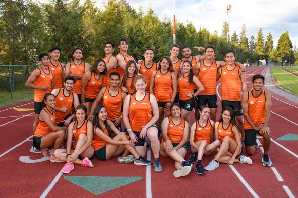Tribu Verde arrasó en competencia de atletismo