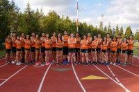 Como un tornado, la Tribu Verde arrasó en competencia de atletismo
