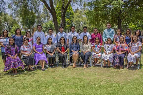 El Programa de Liderazgo para Jóvenes Indígenas de la UDLAP es reconocido por el Centro Mexicano para la Filantropía