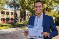 Estudiante UDLAP fue segundo lugar en concurso de Faurecia