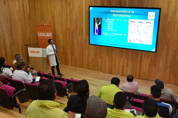 """UDLAP realiza """"Jornadas de actualización en medicina del deporte"""""""