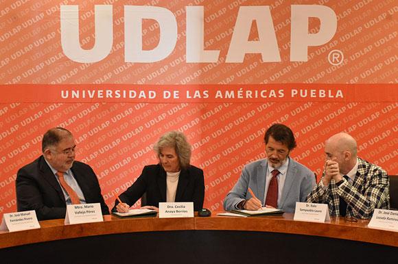 UDLAP y Hospiten México firman acuerdo para intercambio académico
