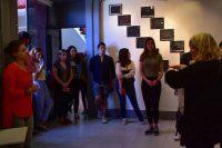 Colectivo la 15, muestra su trabajo a estudiantes de la UDLAP