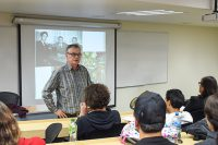 Miguel Cereceda teórico y crítico de arte visitó la UDLAP por segunda ocasión