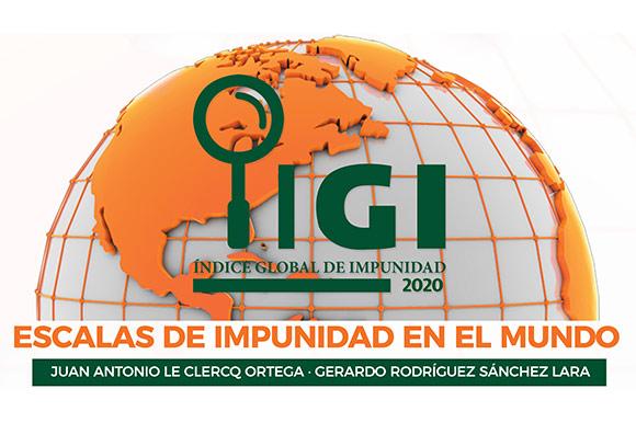 México se mantiene en muy altos niveles de impunidad