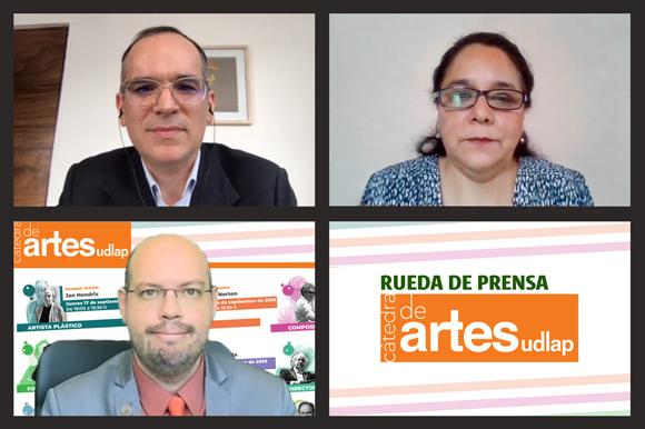 La UDLAP presenta su Cátedra de Artes, espacio que promueve la divulgación