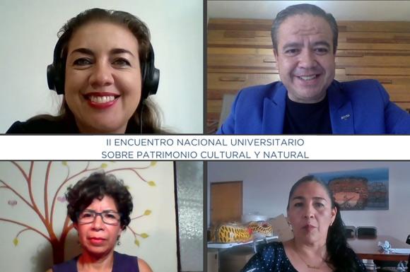 Académica UDLAP participó en el II Encuentro Nacional Universitario sobre Patrimonio Cultural y Natural