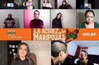 Cultura UDLAP presenta obra de teatro La acidez de las mariposas