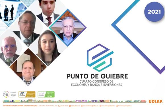 Reúne UDLAP a especialistas en el área económica y financiera, para analizar temas como crecimiento económico, desigualdad y pobreza