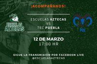 Escuelas Aztecas busca ligar su segundo triunfo en el Encuentro Atlético