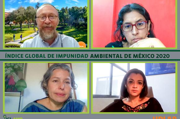 La UDLAP presentó su Índice de Impunidad Ambiental 2020