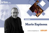 Mario Espinosa comparte su experiencia en teatro en la Cátedra de Artes UDLAP
