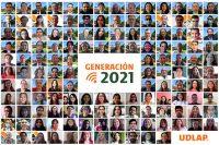 La UDLAP festeja a distancia a la Generación 2021