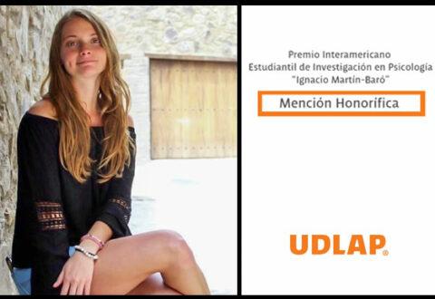 Egresada UDLAP recibió mención honorifica por la Sociedad Interamericana de Psicología