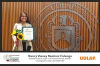 Egresada UDLAP ganadora del segundo lugar en el segundo Encuentro Estatal de Jóvenes Investigadores del CONCYTEP